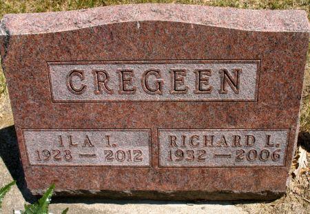 CREGEEN, ILA I.  - Ringgold County, Iowa   ILA I.  CREGEEN
