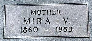 CROUCH, MIRA V. - Ringgold County, Iowa   MIRA V. CROUCH