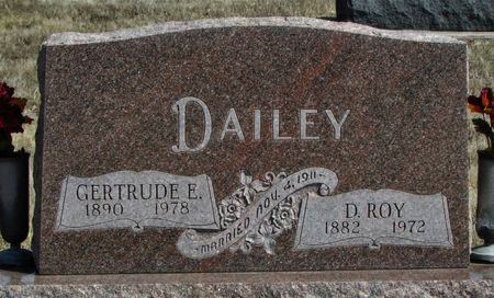 DAILEY, D. ROY - Ringgold County, Iowa | D. ROY DAILEY