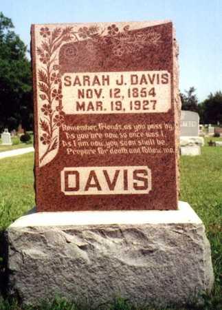 DAVIS, SARAH JANE - Ringgold County, Iowa | SARAH JANE DAVIS