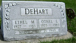 DEHART, OTHEL LAVERNE - Ringgold County, Iowa | OTHEL LAVERNE DEHART