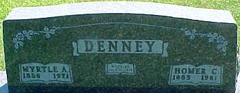 DENNEY, MYRTLE ANN (JEFFERSON) - Ringgold County, Iowa | MYRTLE ANN (JEFFERSON) DENNEY