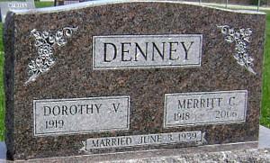 DENNEY, DOROTHY V. - Ringgold County, Iowa | DOROTHY V. DENNEY