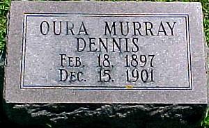 DENNIS, OURA MURRAY - Ringgold County, Iowa | OURA MURRAY DENNIS