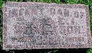 DERICKSON, INFANT DAUGHTER - Ringgold County, Iowa | INFANT DAUGHTER DERICKSON