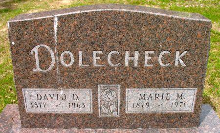 DOLECHECK, DAVID D. - Ringgold County, Iowa | DAVID D. DOLECHECK