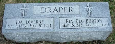 ARMSTRONG DRAPER, IDA LOVERNE - Ringgold County, Iowa   IDA LOVERNE ARMSTRONG DRAPER