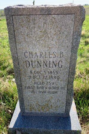DUNNING, CHARLES B. - Ringgold County, Iowa | CHARLES B. DUNNING