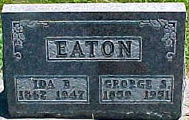 EATON, GEORGE S. - Ringgold County, Iowa | GEORGE S. EATON