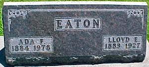 EATON, ADA F. - Ringgold County, Iowa | ADA F. EATON