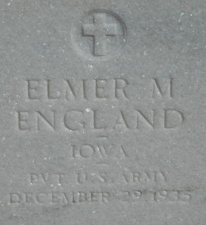 ENGLAND, ELMER - Ringgold County, Iowa | ELMER ENGLAND