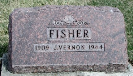 FISHER, J. VERNON - Ringgold County, Iowa | J. VERNON FISHER