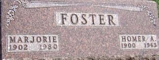 FOSTER, MARJORIE - Ringgold County, Iowa | MARJORIE FOSTER