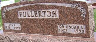 FULLERTON, DR. OSCAR LEWIS - Ringgold County, Iowa | DR. OSCAR LEWIS FULLERTON