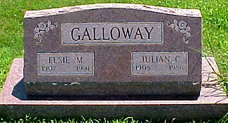 GALLOWAY, ELSIE MARIE (SAVILLE) - Ringgold County, Iowa | ELSIE MARIE (SAVILLE) GALLOWAY