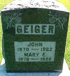 LEE GEIGER, MARY ELLEN - Ringgold County, Iowa | MARY ELLEN LEE GEIGER