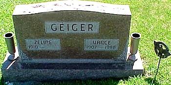 GEIGER, VANCE - Ringgold County, Iowa | VANCE GEIGER