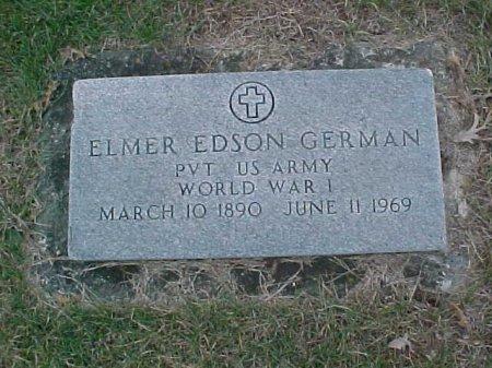 GERMAN, ELMER EDSON - Ringgold County, Iowa | ELMER EDSON GERMAN