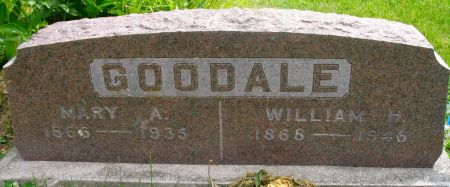 GOODALE, WILLIAM H. - Ringgold County, Iowa | WILLIAM H. GOODALE