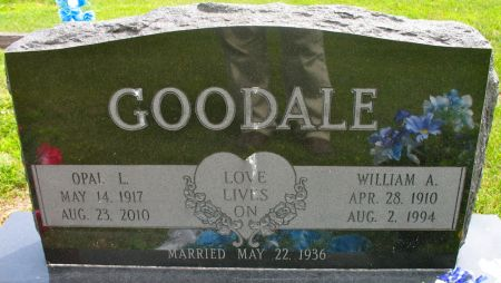 GOODALE, OPAL LORENE (RICE) - Ringgold County, Iowa | OPAL LORENE (RICE) GOODALE