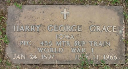 GRACE, HARRY GEORGE - Ringgold County, Iowa | HARRY GEORGE GRACE