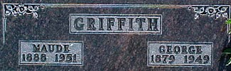 GRIFFITH, GEORGE E. - Ringgold County, Iowa | GEORGE E. GRIFFITH