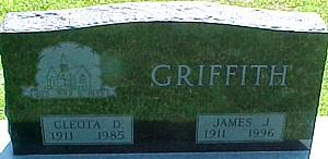 GRIFFITH, CLEOTA D. - Ringgold County, Iowa | CLEOTA D. GRIFFITH