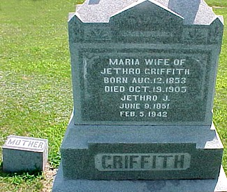 GRIFFITH, MARIA H. (GLOVER) - Ringgold County, Iowa | MARIA H. (GLOVER) GRIFFITH