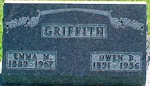 GRIFFITH, OWEN B. - Ringgold County, Iowa | OWEN B. GRIFFITH