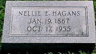 MEKEMSON HAGANS, NELLIE E. - Ringgold County, Iowa | NELLIE E. MEKEMSON HAGANS