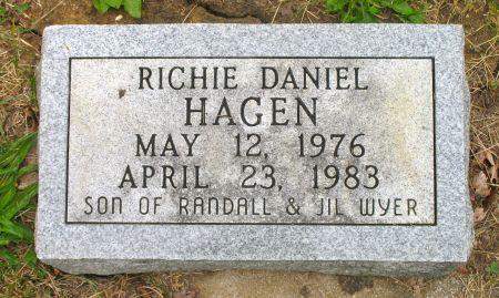 HAGEN, RICHIE DANIEL - Ringgold County, Iowa   RICHIE DANIEL HAGEN