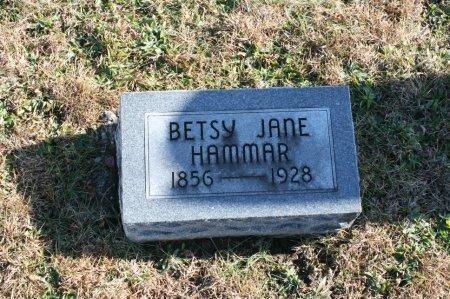 HAMMAR, BETSY - Ringgold County, Iowa   BETSY HAMMAR