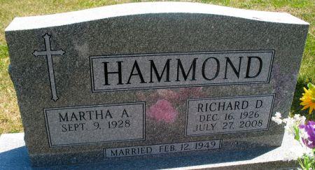 HAMMOND, RICHARD D. - Ringgold County, Iowa | RICHARD D. HAMMOND