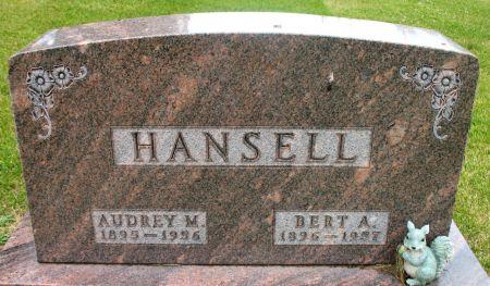 HANSELL, AUDREY M. - Ringgold County, Iowa | AUDREY M. HANSELL