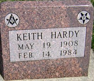 HARDY, KEITH - Ringgold County, Iowa   KEITH HARDY