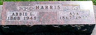 HARRIS, ASA - Ringgold County, Iowa   ASA HARRIS