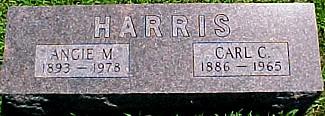 HARRIS, ANGIE MALINDA (CAMPBELL) - Ringgold County, Iowa | ANGIE MALINDA (CAMPBELL) HARRIS