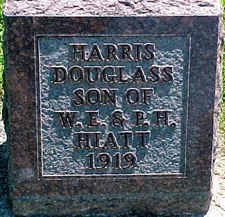 HARRIS, DOUGLASS HIATT - Ringgold County, Iowa   DOUGLASS HIATT HARRIS