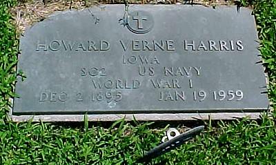 HARRIS, HOWARD VERNE - Ringgold County, Iowa | HOWARD VERNE HARRIS