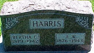 HARRIS, J. W. - Ringgold County, Iowa | J. W. HARRIS