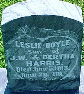 HARRIS, LESLIE DOYLE - Ringgold County, Iowa | LESLIE DOYLE HARRIS