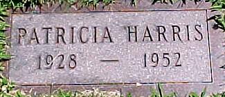 HARRIS, PATRICIA - Ringgold County, Iowa   PATRICIA HARRIS