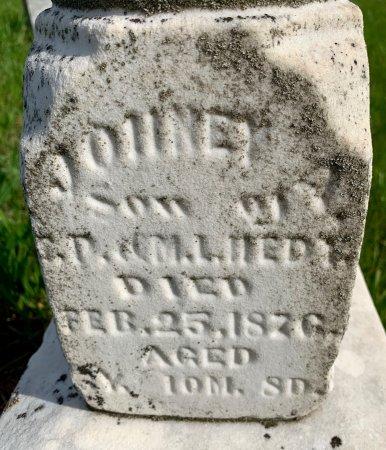 HEDY, JOHNEY A. - Ringgold County, Iowa | JOHNEY A. HEDY
