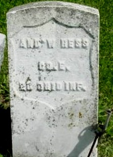 HESS, ANDREW J. - Ringgold County, Iowa | ANDREW J. HESS