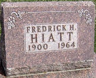 HIATT, FREDRICK H. - Ringgold County, Iowa | FREDRICK H. HIATT