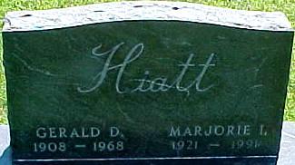 HIATT, GERALD D. - Ringgold County, Iowa | GERALD D. HIATT
