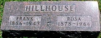 HILLHOUSE, ROSA - Ringgold County, Iowa | ROSA HILLHOUSE