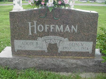 HOFFMAN, ADDIE B. - Ringgold County, Iowa | ADDIE B. HOFFMAN