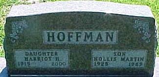 HOFFMAN, HOLLIS MARTIN - Ringgold County, Iowa | HOLLIS MARTIN HOFFMAN
