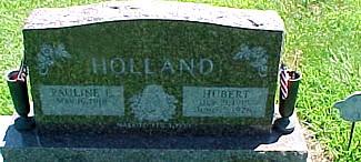 HOLLAND, PAULINE E. (FLETCHALL) - Ringgold County, Iowa | PAULINE E. (FLETCHALL) HOLLAND